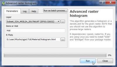 Raster histogram awf wiki qgis advanced histogramg ccuart Images
