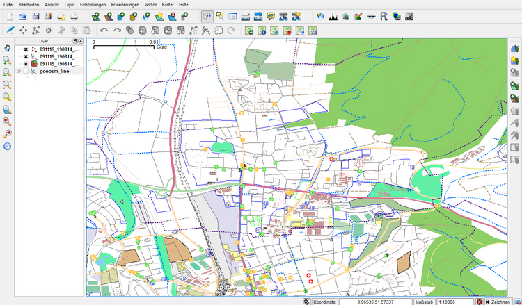 OpenStreet Map layer - AWF-Wiki